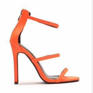 Fashion Nova Orange Heels